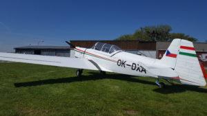 Zlin Z-726 OK-DXA