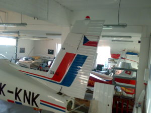 Zlin Z-142 (OK-KNK)