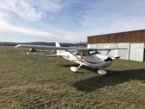 Galetrie Cessna-172 (OK-WIN)
